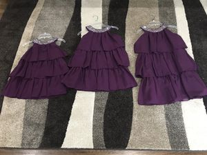 Set of (3) Girls Flower Girl dresses for Sale in Silver Spring, MD