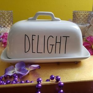 NWT Rae Dunn Smooth Delight Butter Dish Large Letter for Sale in Baltimore, MD