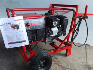LINCOLN STICK ARC WELDER/GENERATOR 125 AMPS for Sale in Houston, TX