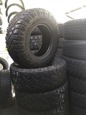 (4) Goodyear 265/75r16 for Sale in Los Angeles, CA