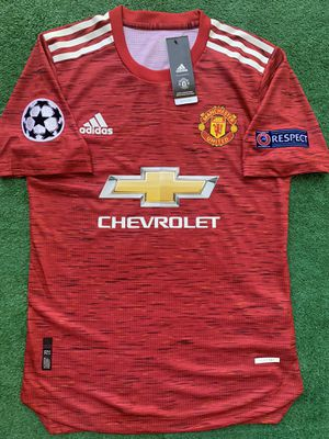 2020/21 Manchester United soccer jersey for Sale in Raleigh, NC