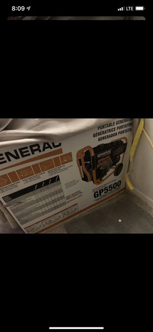 New generec gp5500 for Sale in Mulberry, FL