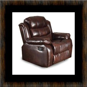 Burgundy recliner chair for Sale in Brentwood, MD
