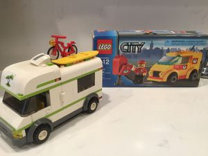 LEGO Mail Van 7731 & Camper 7639 Complete for Sale in Placentia, CA