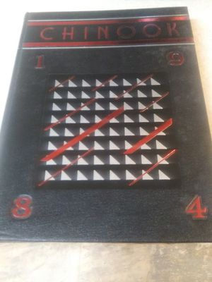 1984 Chinook high school year book for Sale in Lake Stevens, WA