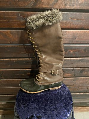 High Leg Rain/Snow Fur Boots for Sale in Philadelphia, PA