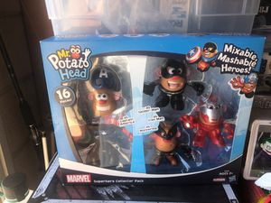 Mr Potato Head Super hero collection pack for Sale in Colton, CA
