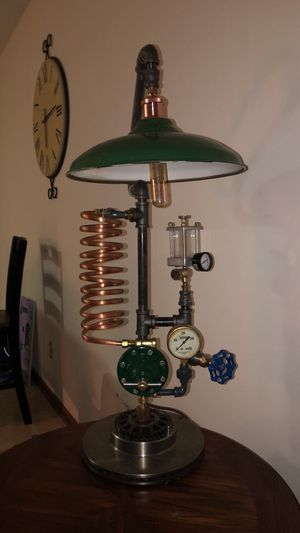 Steampunk lamp for Sale in Nisswa, MN