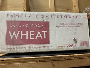 Free 33 pounds of sealed hard red winter wheat for Sale in Atlanta, GA