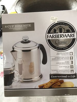 New in box coffee maker for Sale in Great Neck, NY