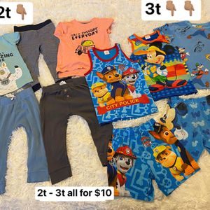 Toddler Boy Clothes 2t-3t for Sale in Henderson, NV