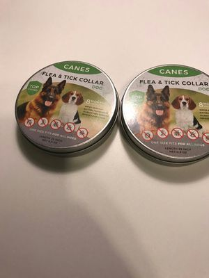 Flea and Tick Collar For Dogs ⭐️⭐️⭐️⭐️⭐️Small Under sale -80% end of season for Sale in Chino, CA