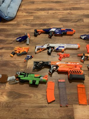 12 nerf guns for Sale in Silver Spring, MD