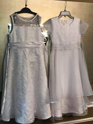 Bonnie Jean Flower Girl/ Communion White Dresses Size 10 for Sale in Elk Grove Village, IL