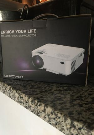 DBPOWER MINI PROJECTOR for Sale in Jurupa Valley, CA