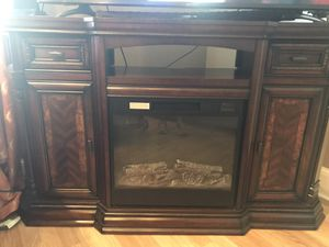 Tv stand with fireplace for Sale in New Castle, DE