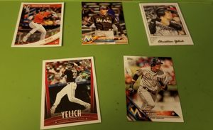 Yelich and Baez baseball cards for Sale in Westampton, NJ