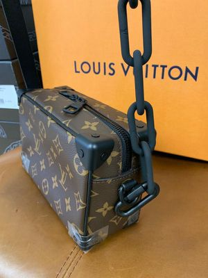 Louis Vuitton mini soft trunk monogram brown/orange New for Sale in Henderson, NV