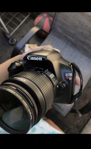 Canon EOS Rebel T3 for Sale in Sacramento, CA