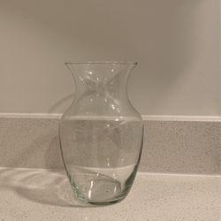 "Glass 8"" Flower Vase for Sale in Washington,  DC"