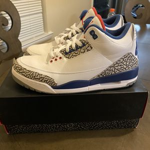 Jordan 3 True Blue for Sale in Leesburg, VA