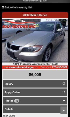 2008 BMW 3-Series 328xi for Sale in Chicago, IL
