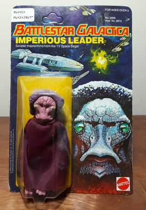 Battlestar Galactica Imperious Leader Action Figure 70s toy for Sale in Marietta, GA