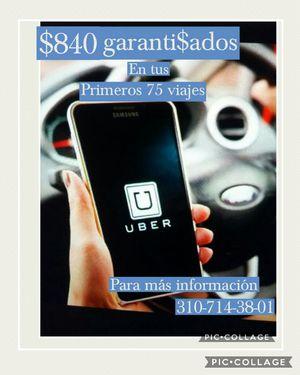 Uber trabaja de driver y ganate bonos extras for Sale in Compton, CA