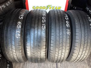 4 USED TIRES 195 65 15 MICHELIN ENERGY 80% TREAD $150 ALL 4 INSTALLED AND BALANCED for Sale in San Diego, CA