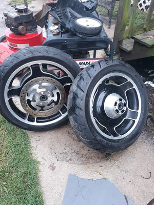 Harley's Davidson's wheels for Sale in Hampton, VA