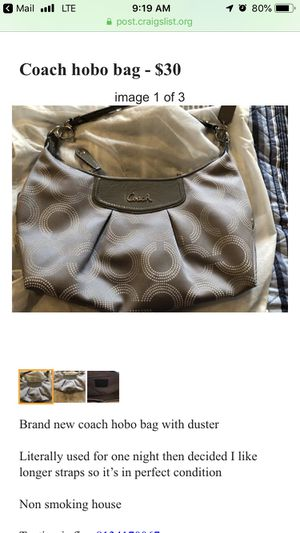 Coach bag for Sale in Valrico, FL