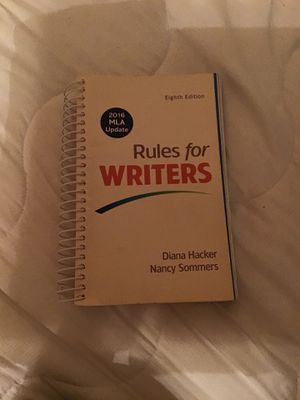 Rules for Writers for Sale in Oakland, CA