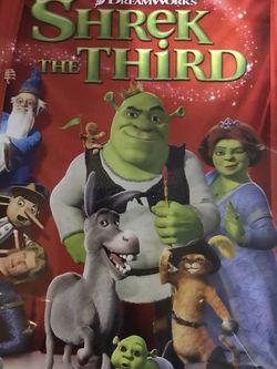 Shrek The Third Dvd Movie for Sale in Elma,  WA