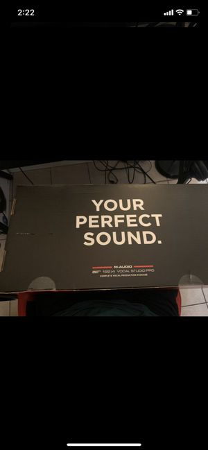 M-Audio Air 192|4 Vocal Studio Pro for Sale in Upland, CA