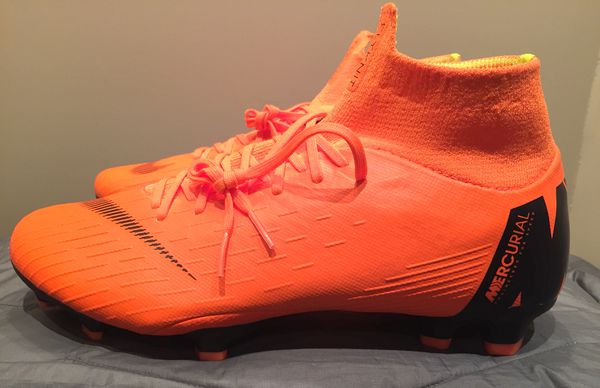 Nike Mercurial Firm-Ground ACC Soccer Cleat Superfly 6 Pro FG Sizes 8, 8.5, 9, 10, 10.5 (AH7368-810)