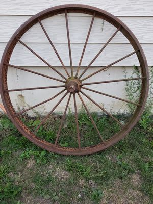 47 in wagon tractor wheel for Sale in Lorain, OH