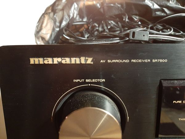 MARANTZ RECIEVER CD AND DVD
