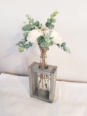 Farmhouse Wood Rose Arrangement for Sale in Beaumont, CA