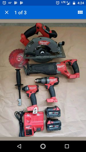 Milwaukee m18fuel combo for Sale in Lakeside, AZ