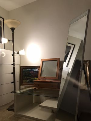Lots of household items (beautiful mirror, glass table, antiques, and much more) for Sale in Los Angeles, CA