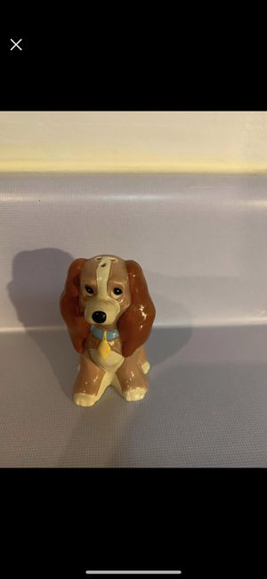 Disney Lady and The Tramp dog salt shaker for Sale in Hermitage, TN