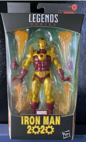 Exclusive Marvel Legends Iron Man 2020 Collectible Action Figure Toy for Sale in Chicago, IL