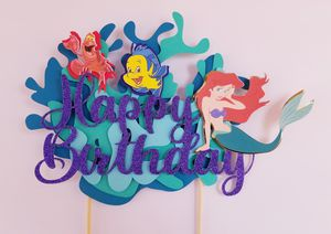 3D mermaid cake topper for Sale in Phoenix, AZ