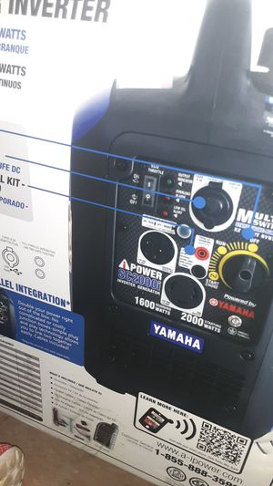 Brand new never used ipower generator powered by Yamaha for Sale in Honolulu, HI