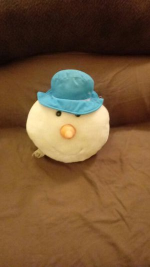 Snowman Head Pillow for Sale in OH, US