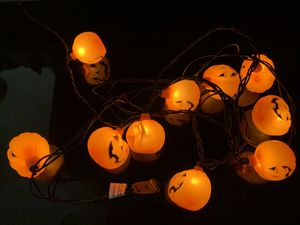 Halloween pumpkins 9' string light for Sale in Huntington Beach, CA