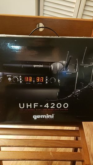 Gemini dual wireless mic for Sale in Chantilly, VA
