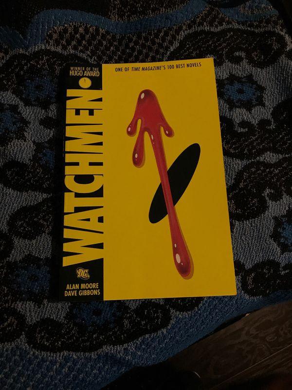 Watchmen full comic book
