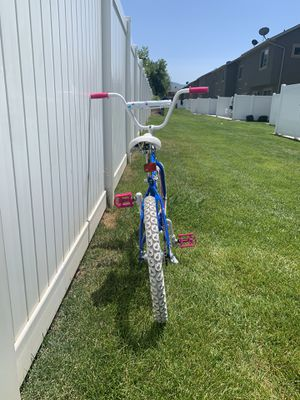 "White bike for kids 16"" for Sale in Kaysville, UT"