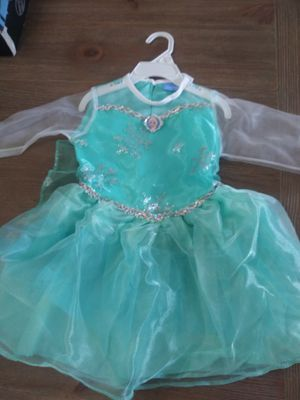 Frozen costume, size 2-4T for Sale in Miami, FL